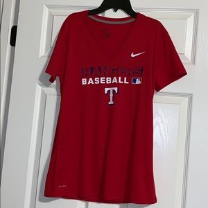 Texas Rangers Dri Fit Top